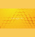 bright gradient hex shapes vector image