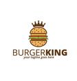 Burger King Logo vector image vector image