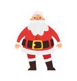 christmas new year santa claus vector image