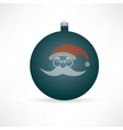new Year 2014 icon vector image vector image