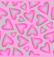 romantic seamless pattern with color transparent vector image