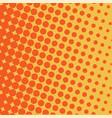 halftone circles background halftone dot pattern vector image