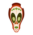 African tribal mask vector image vector image
