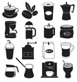 Coffee Icons Design vector image vector image
