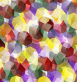 Crystals Abstract vector image vector image