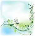 floral flower background vector image