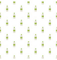 plastic bottle for dairy foods pattern vector image vector image