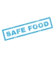 Safe Food Rubber Stamp vector image vector image