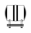 taiko drum musical instrument icon image vector image vector image