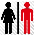 WC Persons Icon vector image vector image
