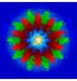 abstract polygon vane vector image vector image