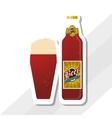 Beer icon design editable vector image vector image