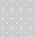 Dotted octagons and squares vector image vector image