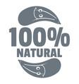 eggplant logo simple gray style vector image