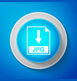 jpg file document icon download jpg button sign vector image vector image