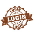 Login stamp sign seal