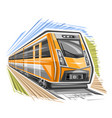 logo for train vector image