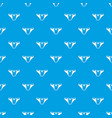 underpants girl pattern seamless blue vector image vector image