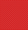 vintage polka dots white and red pattern colorful vector image vector image