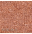 Brown fabric texture for background vector image vector image