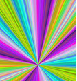 Colorful ray burst background - design vector image vector image