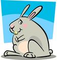 doodle bunny vector image vector image