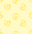 Ducks background vector image vector image