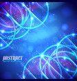 futuristic abstract background vector image