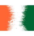 ivory coast flag design concept vector image