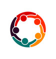 partner business teamwork trust in each other vector image vector image