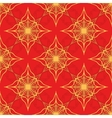 Pattern on a red background vector image vector image