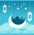 ramadhan kareem 2 vector image vector image