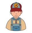 Repair mechanic man icon vector image