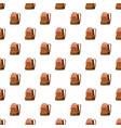 school bag pattern vector image vector image