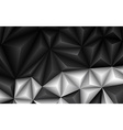 Abstract geometrical black and white background vector image vector image