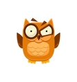 Outraged Brown Owl vector image vector image
