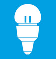 reflector bulb icon white