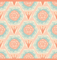 soft pastel vintage floral dusty rose and blue vector image vector image