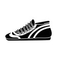 sport tennis shoes isolated icon vector image vector image