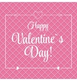 St Valentine Day Greeting Card in Retro vector image vector image