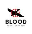 vintage badge hunter logo design template vector image vector image