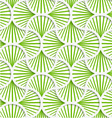 3D green striped pin will grid vector image vector image