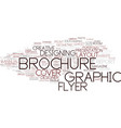 designing word cloud concept vector image vector image