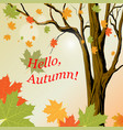 for banner or postcard vector image vector image