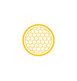 honeycomb design vector image vector image