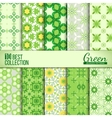 Spring summer backdrops collection vector image vector image