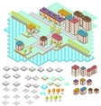 Isometric RPG game assets vector image