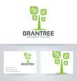 Brand Tree vector image vector image