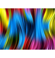 colorful abstract backgroundsmooth waves vector image vector image