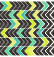 Colorful ethnic striped pattern vector image